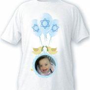 חולצה דגם תמונה בלונים